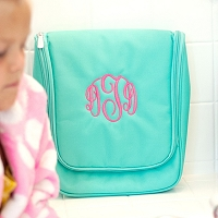 Mint Hanging Toiletry Travel Case
