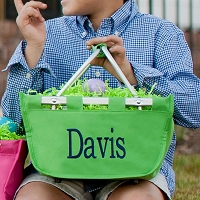 Green Mini Market Tote