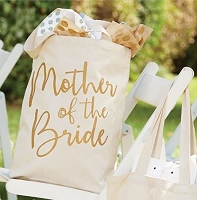 Mother of the Bride Canvas Tote by Mud Pie