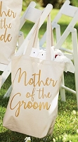 Mother of the Groom Canvas Tote by Mud Pie