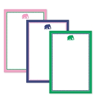 Preppy Elephant Note Pad