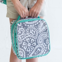 Parker Paisley Lunch Bag