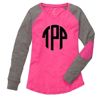 Pink Preppy Patch Tee