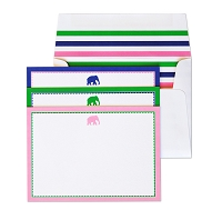 Preppy Elephant Card Set
