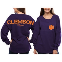 Purple Pom Pom Spirit Jersey - Small
