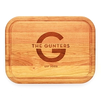 Rectangle Cherry Wood Cutting Board
