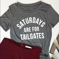 Saturdays Are For Tailgates T-Shirt