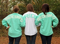 Oversized Bridal Party Pom Pom Spirit Jersey