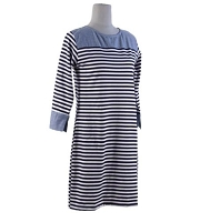 Starboard Stripe Dress - Large