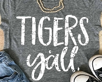 Tigers Y'all T-Shirt