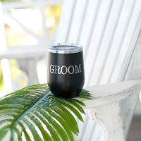 Groom 12 oz. Wine Tumbler