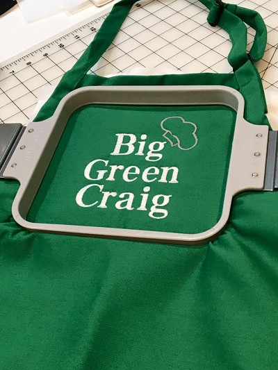 Solid Personalized Long Pocket Apron