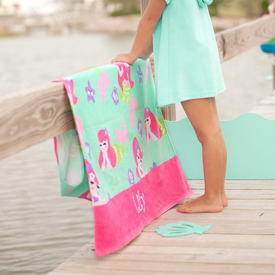 Mermaid Kisses Beach Towel