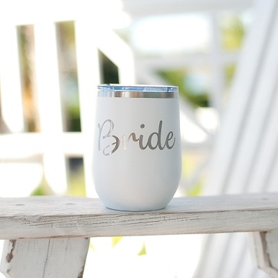 Bride 12 oz Wine Tumbler
