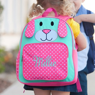 Pink Puppy Preschool Backpack