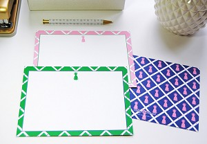 Preppy Pineapple Card Set
