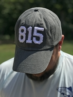 Area Code Stonewashed Baseball Hat / Cap