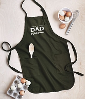 Worlds Best Dad & Grill Master Apron