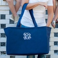 Personalized Navy Ultimate Tote